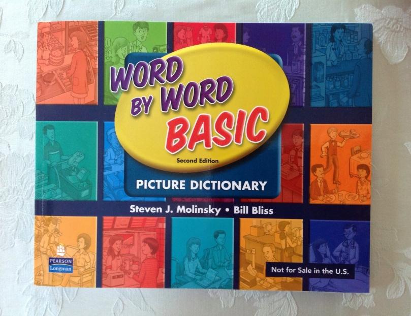 Word by wordは、とっても楽しい視覚教材!みているだけで2500語マスターです!発音もしっかり無料アプリ「じしょ君」でチェックしてください!