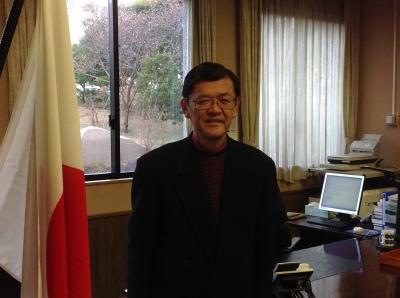 所長室で佐藤所長から色々と興味深いお話が聞けました!