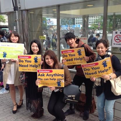 多言語ボランティアも期待しています!みなさん素晴らしい若者たちでした!